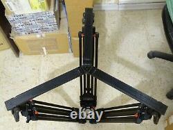 Sachtler ENG 2 CF 100mm carbon fiber tripod 5386 with ground spreader SP100 7002