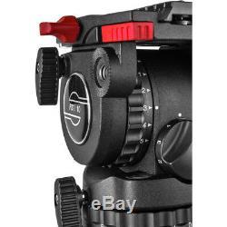 Sachtler FSB 10 FT MS flowtech 100 Tripod System New