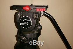 Sachtler FSB 8 Fluid Video Tripod with Carbon Fiber Leg Quick Plate & Carry Case