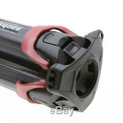 Sachtler Flowtech 75 MS 3-Section Carbon Fiber Tripod SKU#1226698
