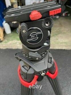Sachtler Flowtech 75 with FSB 4 Fluid Head Carbon Fibre Video Tripod System