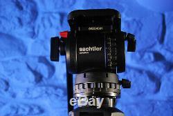 Sachtler Speedlock carbon fibre tripod with Sachtler DV8SB 75mm fluid head