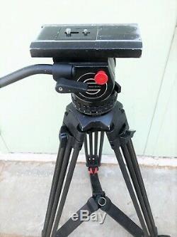 Sachtler System 20 With Sachtler Carbon Fiber Tripod, Spreader