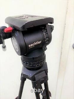 Sachtler System FSB 6 Fluid Head Touch and Go Plate Speed Lock tripod