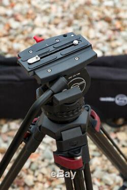 Sachtler System FSB-8 Fluid Head and Speed Lock 75 Tripod with Case