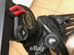 Sachtler Video 15 SB Fluid Head 100mm Bowl Tripod Carbon Systems 5386 ENG 2 CF