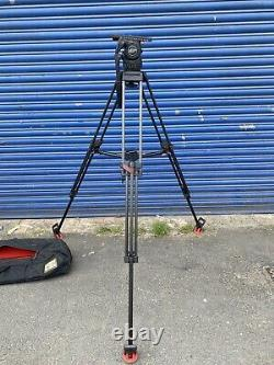 Sachtler Video 18 S1 speed lock carbon fibre with bag