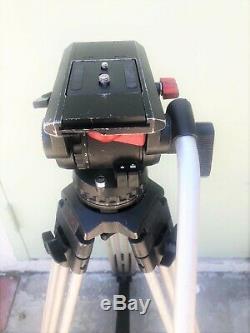 Sachtler Video 18III Fluid Head & Sachtler Aluminium Tripod System