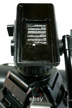 Sachtler Video 18P CF 5386 CARBON FIBER ENG GRSPR SP150 PL AIRBAG SERVICED 44Lbs