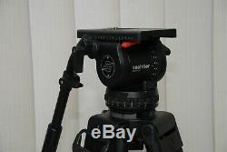 Sachtler Video 20 SB fluid head +Sachtler 2 stage carbon fiber heavy duty legs