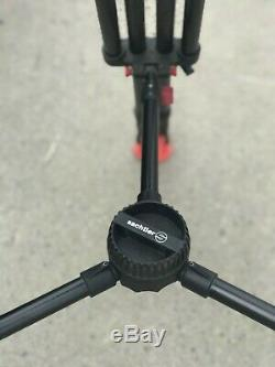Sachtler Video 20 SB with ENG Carbon Tripod, 3 plates, 2 x Pan arms mid spreader