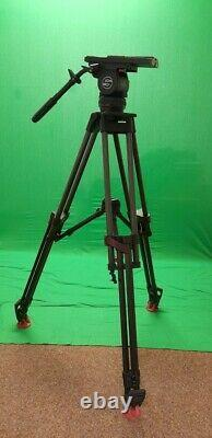 Sachtler Video18p Heavy Duty Tripod System with VCT-U14-F Plate ex condition