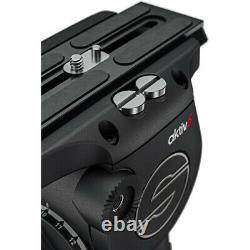 Sachtler aktiv6 Sideload Fluid Head with SpeedLevel & 3-Step Drag 75mm Preorder