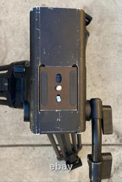 Sachtler tripod sb18 with carbon fiber feet and spreader