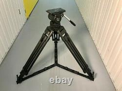 Secced Venus 4 100mmTripod Head + 2 Stage Carbon Fibre Legs-FAULTY, but working