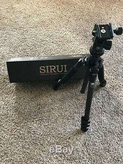 Sirui ET-1204-US Carbon Fiber Tripod with E-10 Ball Head