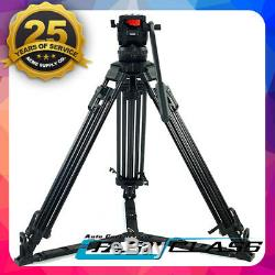 Trix/TERis V12T PLUS Heavy Carbon Fibre Video Camera Tripod Kit Fluid Head