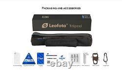 US DealerLeofoto LS-323C Pro Carbon Fiber Tripod with Bag and Spikes feet
