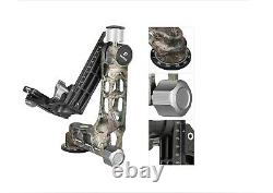 US DealerLeofoto LS-365C + PG-1 Camouflage Carbon Fiber Tripod with Gimbal Head
