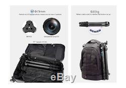 US SellerLeofoto LS-254C + DC-252C Travel Carbon Fiber Tripod / RRS / Gitzo