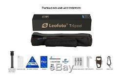 US SellerLeofoto LS-284C + LH30 +282C Professional Carbon Fiber Tripod Set