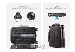 US SellerLeofoto LS-365C Pro Carbon Fiber Tripod with Free AM-1 Arm/ RRS/Gitzo
