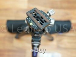 USED Leofoto LS-324C + LH40 Professional Carbon Fiber Tripod Set with Bag No Box