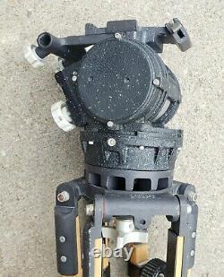 Vintage O'Connor Model 50 Fluid Head Pan Tilt Tripod Video Camera Photography
