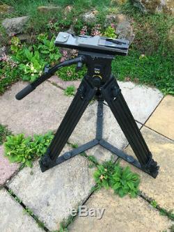 Vinten 100 tripod and carbon fibre legs