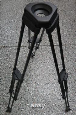 Vinten 3773-3 100mm carbon fiber tripod legs single stage sticks CF pozi-loc