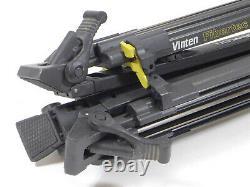 Vinten Vision 11 Fluid Head Tripod Carbon Fiber Fibertec Legs 100mm