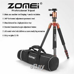 ZOMEI Z888C Carbon Fiber Tripod Monopod Ball Head for DSLR Camera Photography